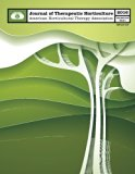 AHTA Journal of Therapeutic Horticulture Volume XXVI Issue I (Volume 26)