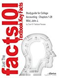 Studyguide for College Accounting: Chapters 1-29 by Wild, John J., ISBN 9780077268831