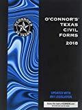O'Connor's Texas Civil Forms, 2018 ed.