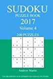 Sudoku Puzzle Book: 2017 Edition - Volume 4