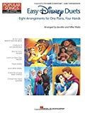 Easy Disney Duets - Popular Songs Series: Late Elementary/Early Intermediate Level (Hal Leon...