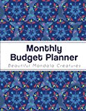 Monthly Budget Planner: Large budget Planner with Graph Paper for Note (8.5x11 inches) - Blu...