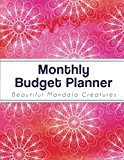 Monthly Budget Planner: Large budget Planner with Graph Paper for Note (8.5x11 inches) - Red...