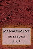 Management Notebook: 6 x 9