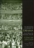 Broadview Anthology of Drama Concise