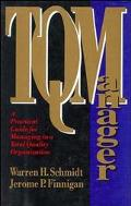 Tqmanager A Practical Guide for Managing in a Total Quality Organization
