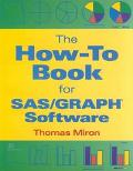 How-To Book for Sas/Graph Software