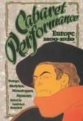 Cabaret Performance Sketches, Songs, Monologues, Memoirs  Europe 1890-1920