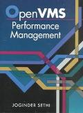 Open Vms Performance Management