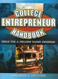 College Entrepreneur Handbook: Ideas for a College-Based Business