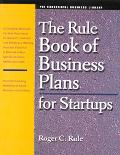 Rule Book of Business Plans for Startups