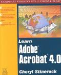 Learn Adobe Acrobat 4.0