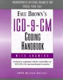 Faye Brown's ICD-9-CM Coding Handbook: with answers (2000, Revised)