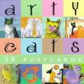 Arty Cats 30 Postcards