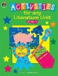 Activities for Any Literature Unit Primary
