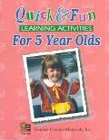 Quick & Fun Learning Activities for 5-Year Olds