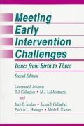 Meeting Early Intervention Challenges