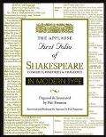 Applause First Folio of Shakespeare in Modern Type