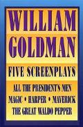 William Goldman 5 Screenplays, All the President's Men, Harper, the Great Waldo Pepper, Magi...