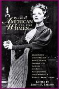 Plays by American Women, 1930-1960