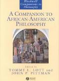 Companion to African-American Philosophy