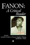 Fanon A Critical Reader