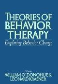 Theories of Behavioral Therapy