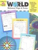 The World Reference & Map Forms: Grades 3-6