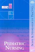 Pediatric Nursing: Scope and Standards of Practice