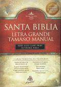 Santa Biblia Letra Grande Tamao Manual/Hand Size Giant Print Reference Bible