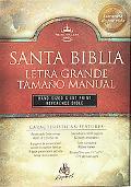 Broadman & Holman Santa Biblia Letra Grande Tamano Manual Reina-Valera Revision 1960  Burgun...