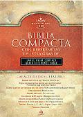 Biblia Compacta Con Referencias De Letra Grande/Compace Quick Reference Bible Black Imitatio...