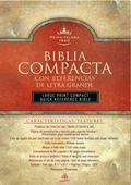 Biblia Compacta Con Referencias De Letra Grande/Large Print Compact Quick Reference Bible