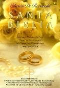 Keepsake Brides Bible/Reina Valera Revision, 1960 Ecru Moie With Silver