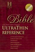 Nkjv Ultra Thin Reference Bible