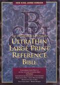 Broadman & Holman Ultra Thin Large Print Reference Bible New King James Version  Hunter Gree...