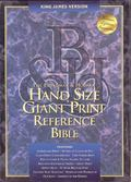 Holy Bible King James Version, Hand Size Giant Print Reference, Thumb Indexed, Black Bonded ...