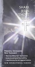 Share Jesus Without Fear Personal Evangelism New Testament/New International Version/Black L...