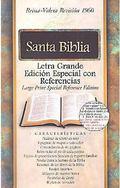 Santa Biblia Letra Grande Edicion Especial Con Referencias Reina-Valera Revision 1960 Burgun...