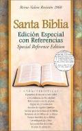 Santa Biblia Edicion Especial Con Referencias  Reina-Valera Revision 1960  Piel Fabricada, R...