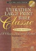Ultrathin Classic Bible New King James Version/Slide Tab British Tan Bonded Leather
