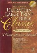 Holman Ultrathin Bible Classic Edition New King James Version/Slide Tab Burgundy Bonded Leather