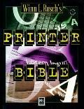 Winn L. Rosch's Printer Bible - Winn L. Rosch - Paperback - 1st ed