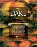 Compact Dake Annotated Reference Bible: King James Version (KJV), black genuine leather