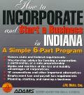 How to Incorporate and Start a Business in Indiana