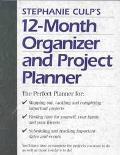 Stephanie Culp's 12 Month Organizer and Project Planner