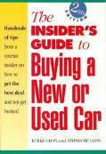 Insider's Guide to Buying a New or Used Car