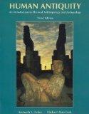 Human Antiquity (Introduction to Physical Anthropology and Archaeology)