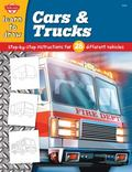 Cars And Trucks Learn To Draw and Color 28 Different Vehicles, Step By Step, Shape By Simple...