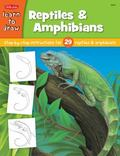 Draw And Color Reptiles & Amphibians Learn to Draw and Color 29 Different Reptiles & Amphibi...